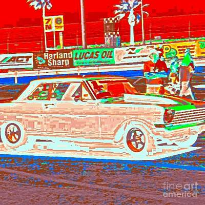 Chevy Shoe Box Print by James Eye