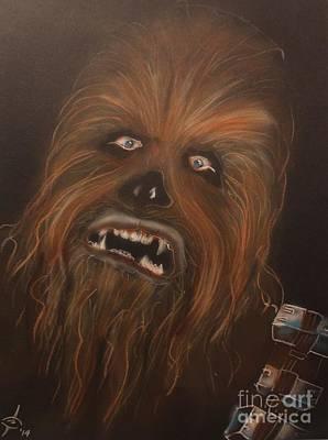 Chewbacca Painting - Chewie by John Sodja