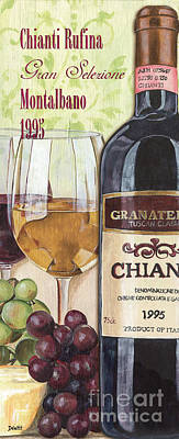 Cheese Painting - Chianti Rufina by Debbie DeWitt