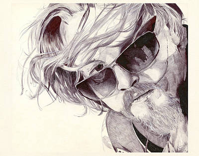 Drawing - Chibs Telford by Kyle Willis