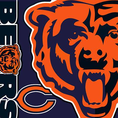 Chicago Bears Original by Tony Rubino