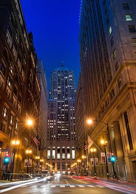 Chicago Board Of Trade Print by Steve Gadomski