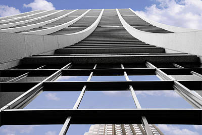 Aesthetic Photograph - Chicago - Chase Tower by Christine Till