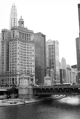 Chicago Downtown 2 Print by Bruce Bley