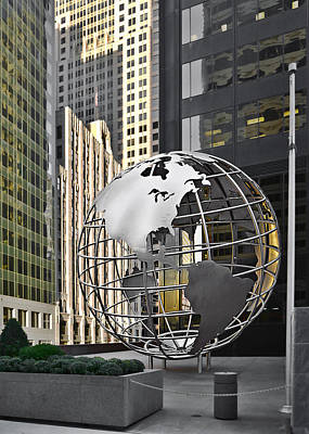 Globes Photograph - Chicago - Home Of Fine Art by Christine Till