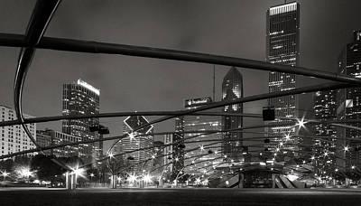 Chicago - Jay Pritzker Pavilion  Print by Jackie Novak