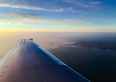 Flying Planes Photograph - Chicago by Jeff Klingler
