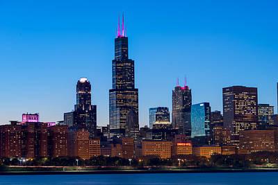 Chicago Lakefront Blues Original by Steve Gadomski