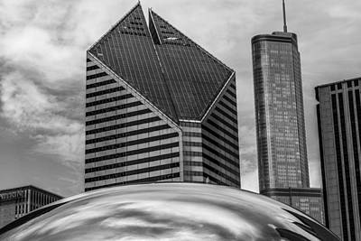 Photograph - Chicago Of The Millenium by John Pike