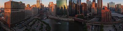 Chicago On The River Original by Steve Gadomski