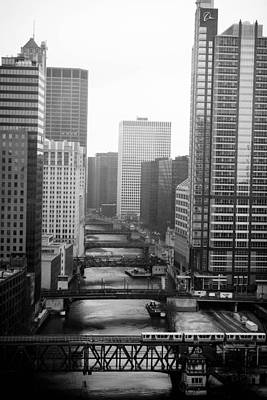 Photograph - Chicago River by Allan Millora