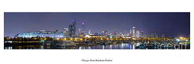 Chicago Skyline Print by Twenty Two North Photography
