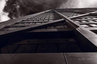 Chicago Structure Bw Original by Steve Gadomski