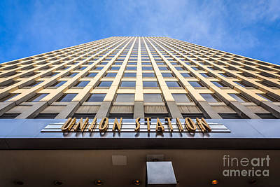 Chicago Photograph - Chicago Union Station Sign And Building Exterior by Paul Velgos