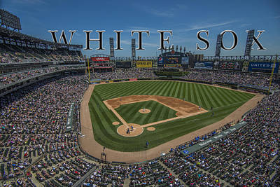 Turf Photograph - Chicago White Sox Us Cellular Field Name by David Haskett