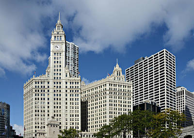 Cake Photograph - Chicago - Wrigley Building by Christine Till