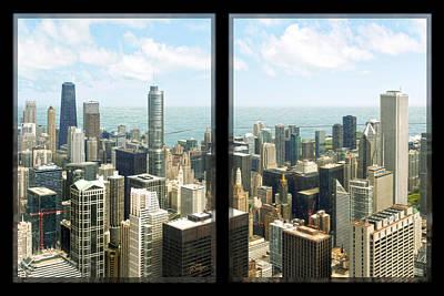 Hancock Building Digital Art - Chicago's Tallest by Doug Kreuger
