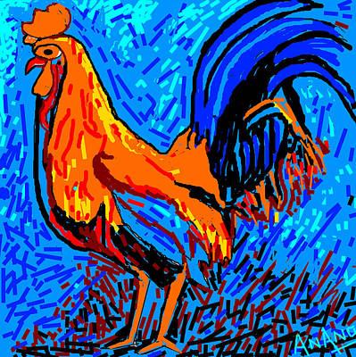 Chicken-5 Print by Anand Swaroop Manchiraju