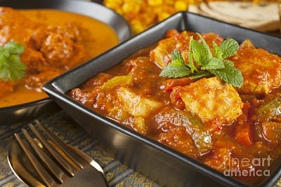 Chicken Photograph - Chicken Jalfrezi Curry by Colin and Linda McKie