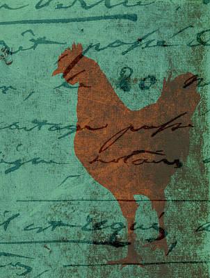 Chicken Photograph - Chicken Scratch by Lesa Fine