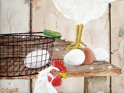 Chicken Shift Original by Michael Dillon