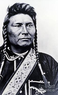 Chief Joseph Nez Perce Leader Print by NPS Photo