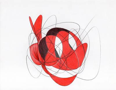 Austin Drawing - Chief Wahoo by Ismael Cavazos