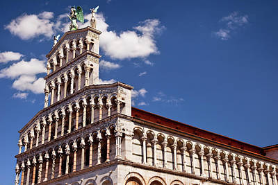 Michele Photograph - Chiesa San Michele In Lucca, Tuscany by Brian Jannsen