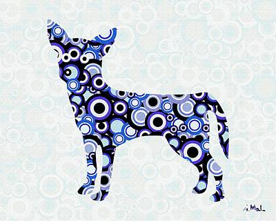 People Digital Art - Chihuahua - Animal Art by Anastasiya Malakhova