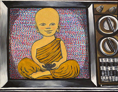 Child Buddha In A Television Original by Nathan Winsor