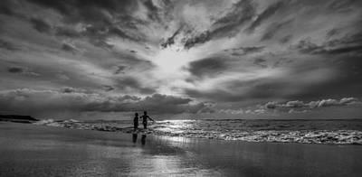 Brotherhood Photograph - Childhood Bonding by Tin Lung Chao