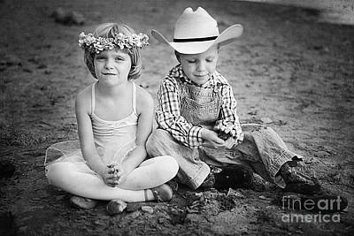 Horizontal Photograph - Childhood by Cindy Singleton