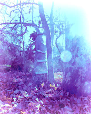 Tree Digital Art - Climb Up  by Priya Ghose