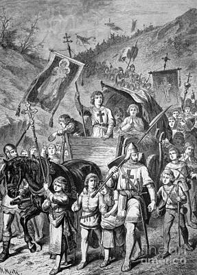 Shepherd Boy Photograph - Children's Crusade, 1212 by Bildagentur-online