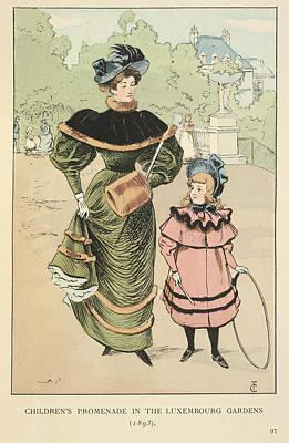Children's Promenade Print by British Library