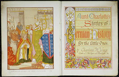Child's History Of Germany Print by British Library