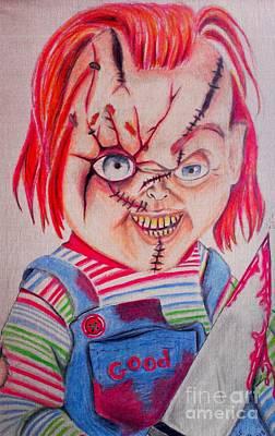 Serial Killer Mixed Media - Child's Play 2 by Denisse Del Mar Guevara