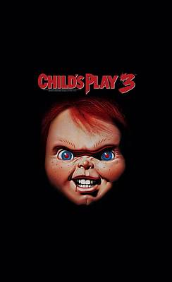Mystery Digital Art - Childs Play 3 - Chucky by Brand A