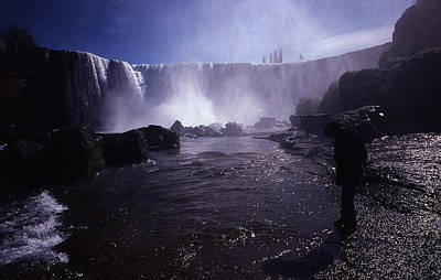 Chilean Waterfalls Print by Thomas D McManus
