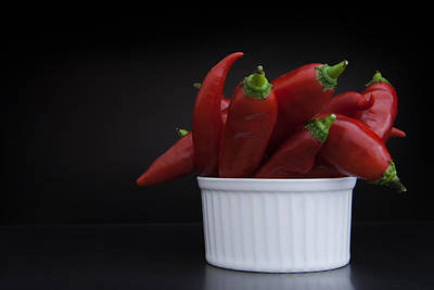 Chili Box Print by Koepp Photography