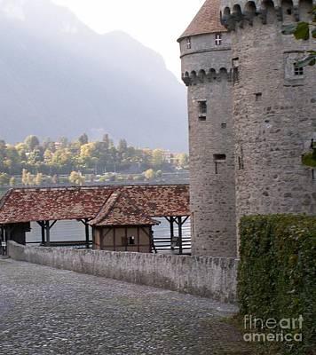 Chillon Castle Print by Evgeny Pisarev