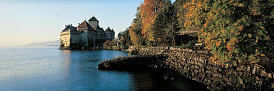 Chillon Castle Switzerland Print by Panoramic Images