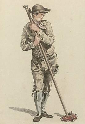 Chimney Sweep, Mathias De Sallieth, Jacob Perkois Print by Artokoloro