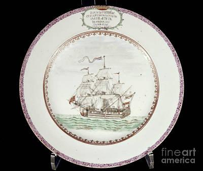 China - Dutch Ship 1756 Print by Granger