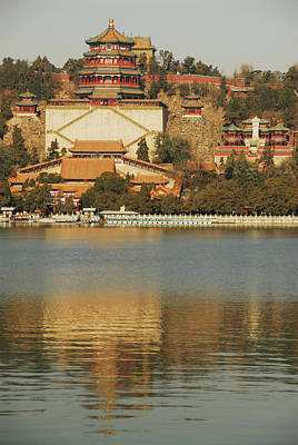 House Of Worship Photograph - China, Beijing, Summer Palace, Temple by Anthony Asael