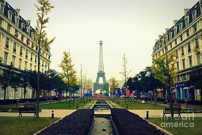 Photograph - China's Paris by Shawna Gibson