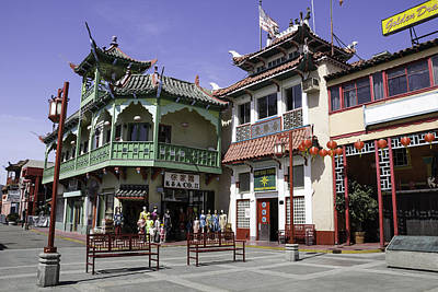 Brotherhood Photograph - Chinatown Souvenir Shop by Teresa Mucha