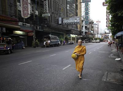 Chinatown Walk Original by David Longstreath