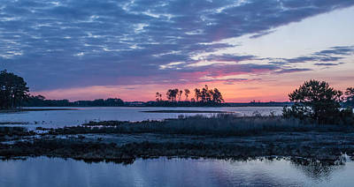 Birds Photograph - Chincoteague Wildlife Refuge Dawn by Photographic Arts And Design Studio