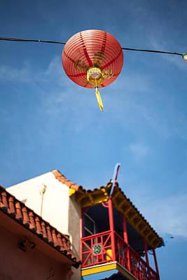 Chinese Lantern Print by Peter Tellone